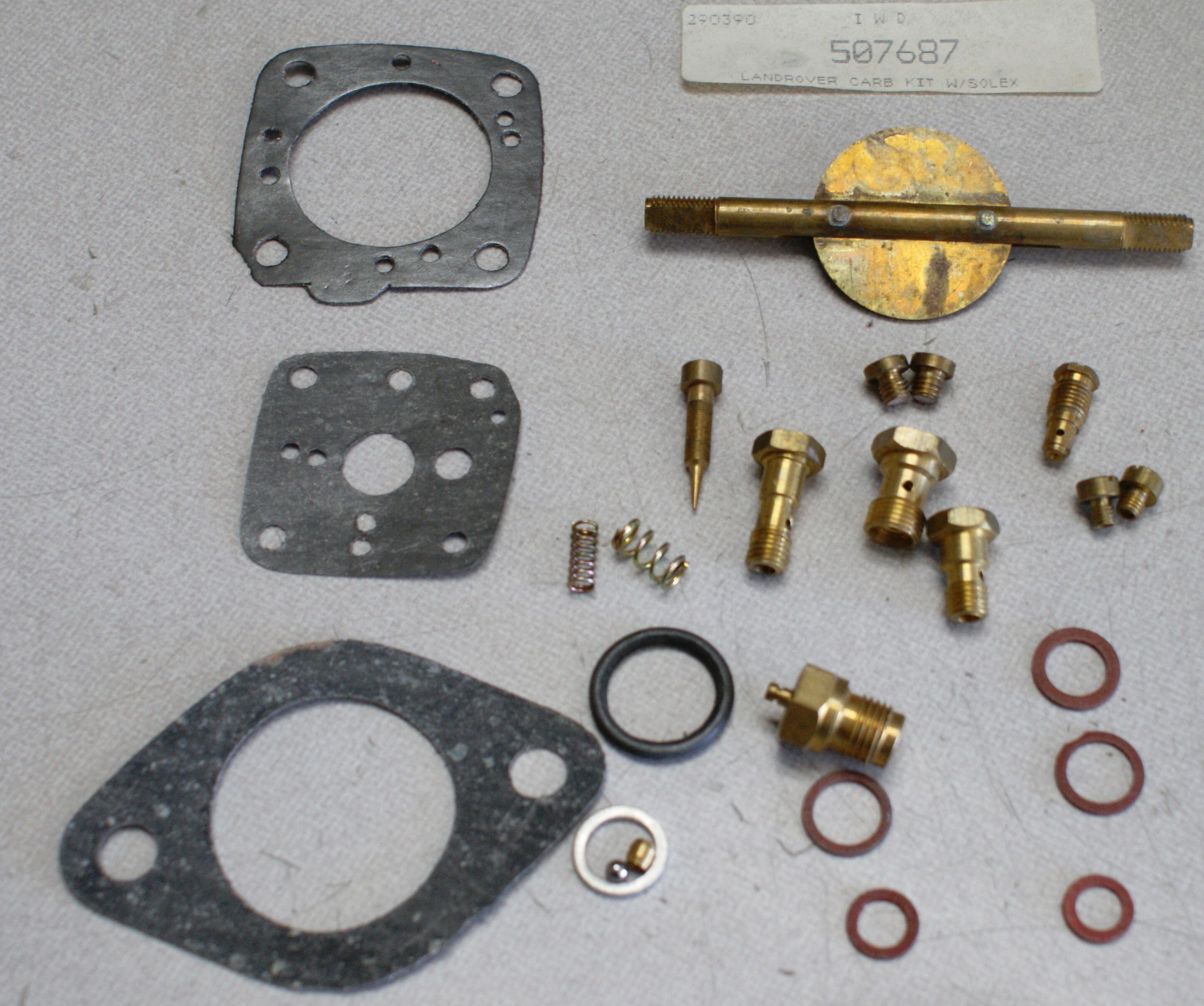 LAND ROVER Series II ('58-'67) Carburetor Rebuild Kit 2.25