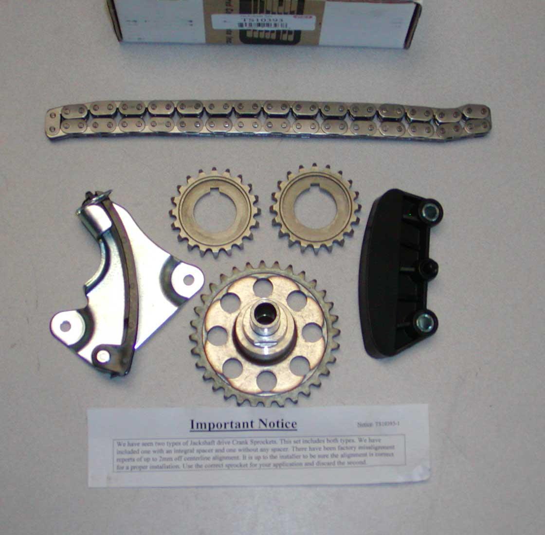 1997-2005 Ford Explorer Ranger 4.0 Timing Chain Set