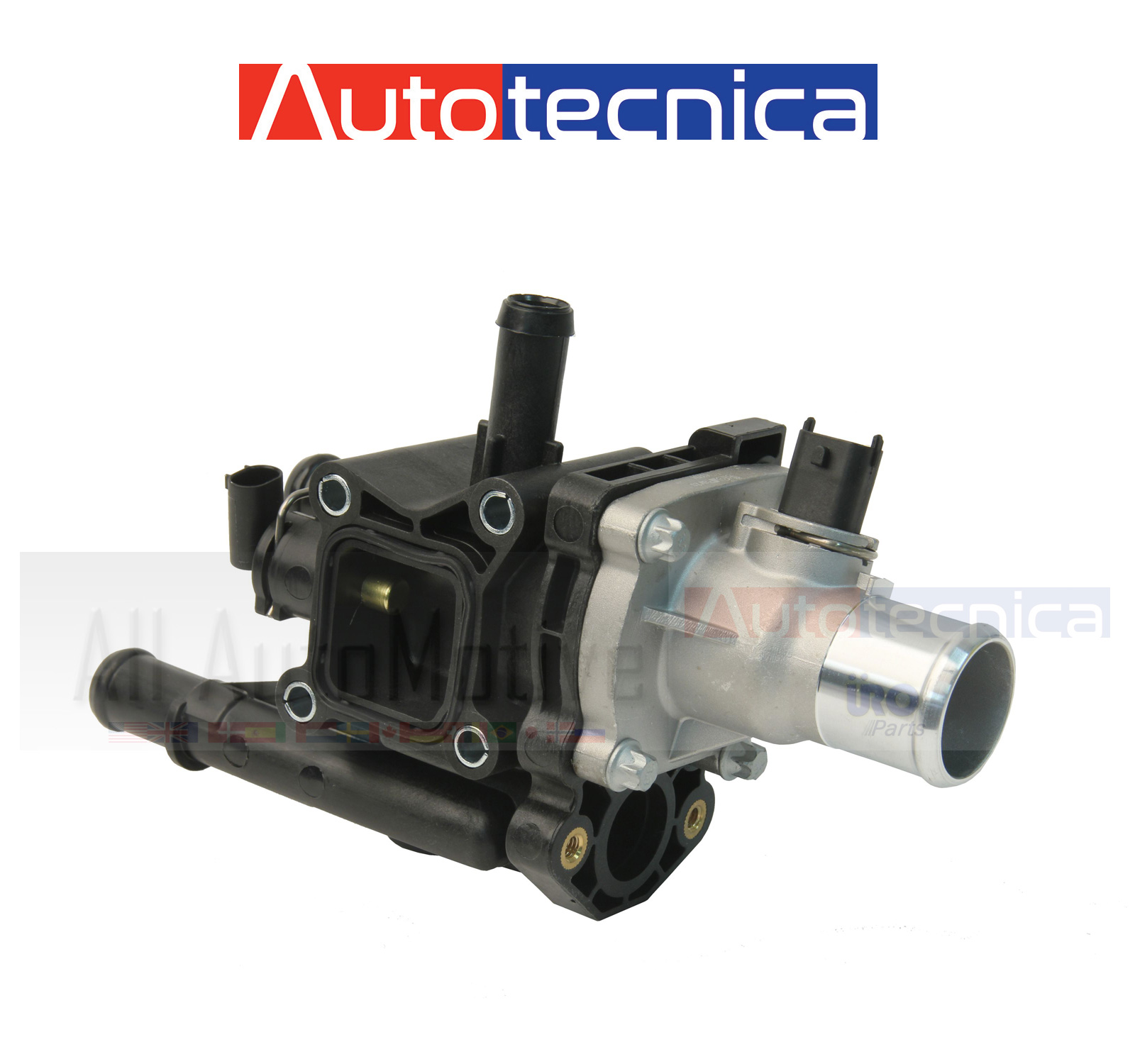 New Engine Coolant Thermostat Assembly For 2012-2018 Chevy Sonic 1.4L 1.6L 1.8L