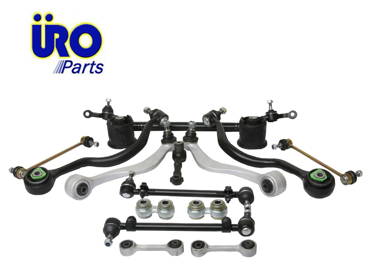 URO Parts E3216PCKIT Suspension Kit 16 pc Front /& Rear
