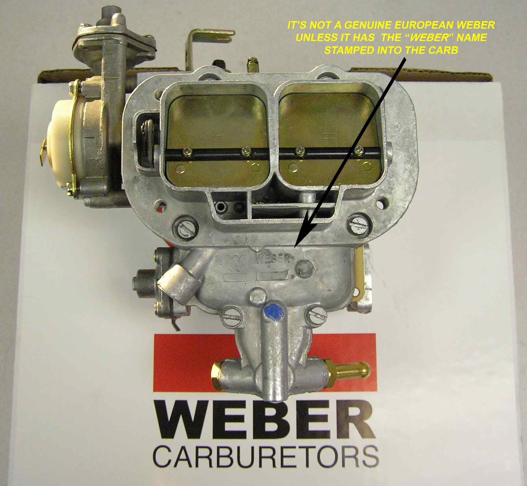 Isuzu Pickup Trooper 2 3 Weber Carburetor Conversion Kit W  Manual Choke Carb