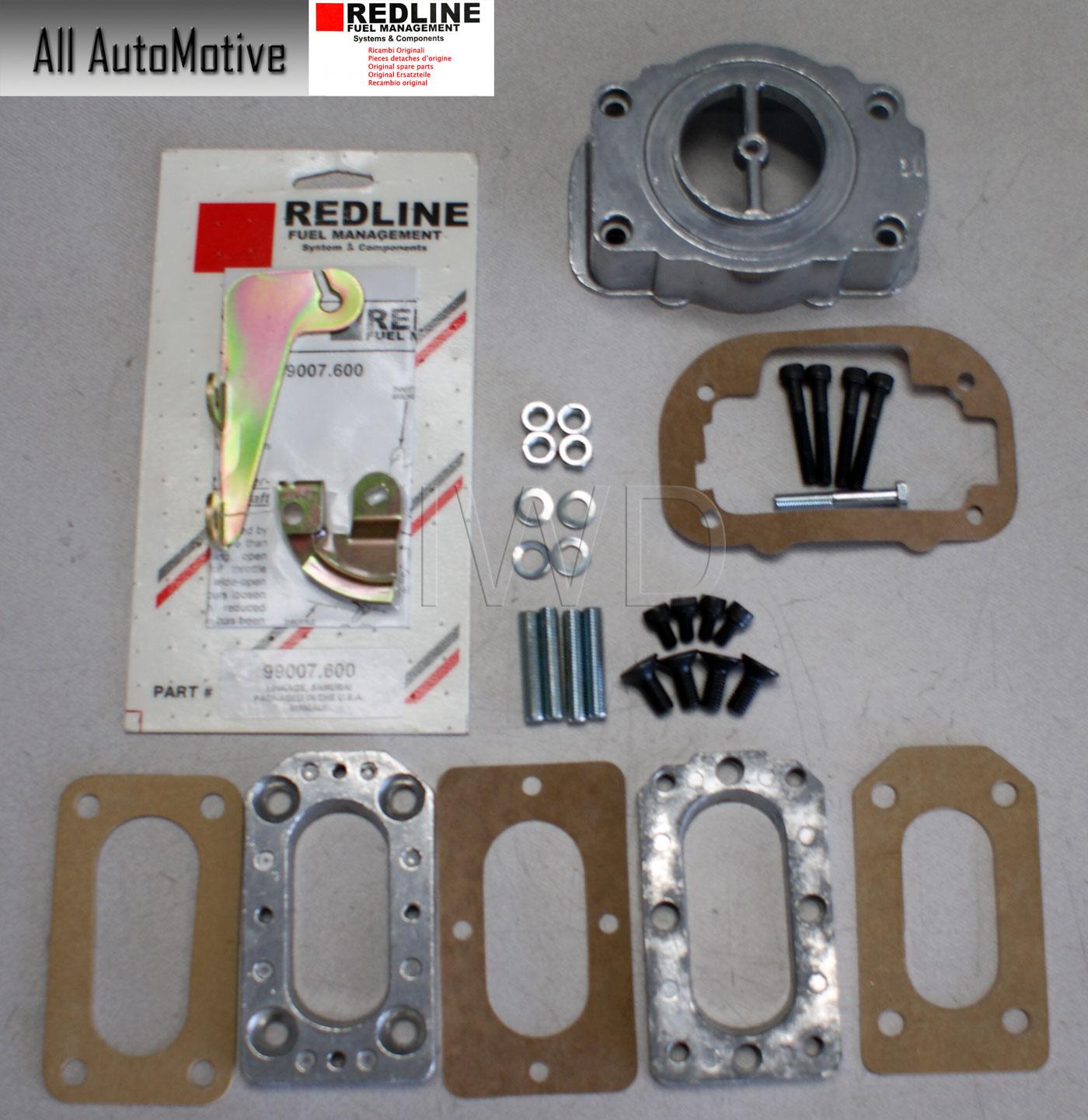 Weber Carburetor Adapter kit To 32//36 DGV for Suzuki Nissan Datsun