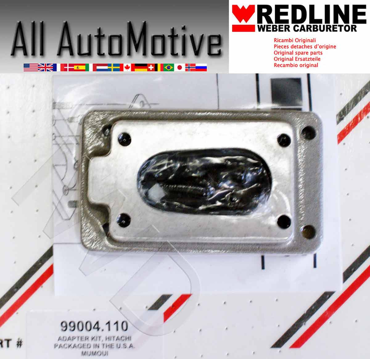 Adapter Plate For Installing Weber Carb Subaru Ea81 Ohv 1600 1800 Wiring Diagram Does Not Apply