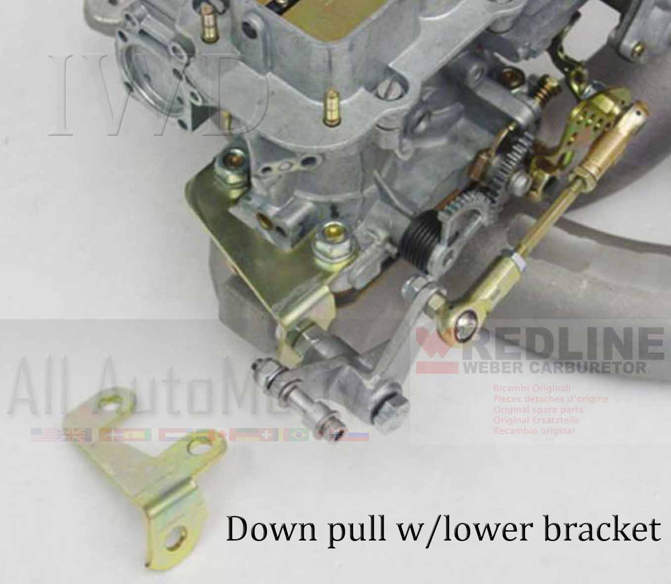 Universal Linkage Kit for Weber Carburetor 32//36DGV DGEV DGAV 38//38DGS