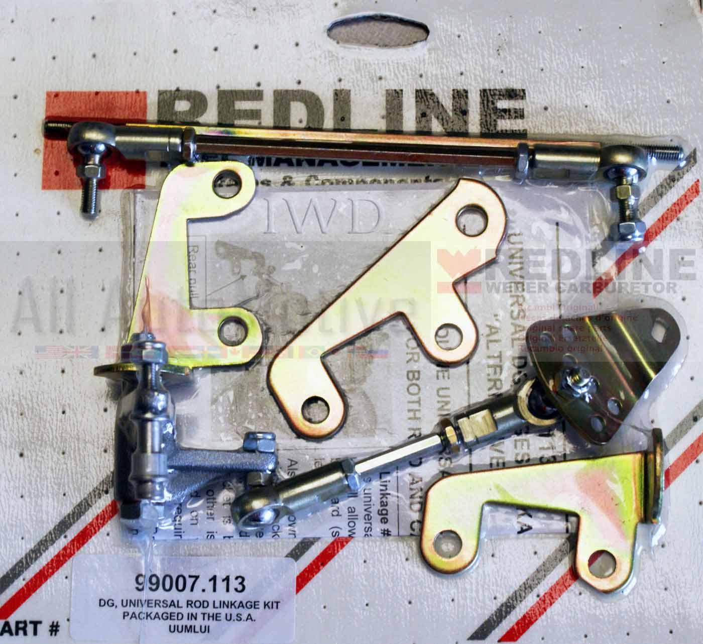Bell Crank Linkage : Universal bell crank linkage fits weber carburetor
