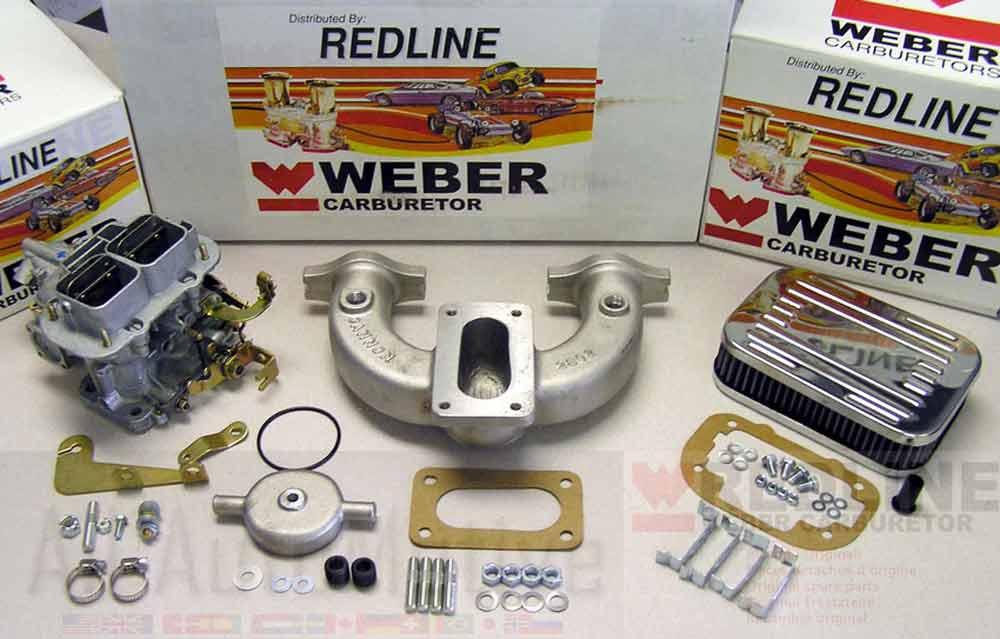 Redline 32//36 DGV Carburetor Kit fits MG MGB 1963-1980 1.8L 4 Cyl 87JGYH