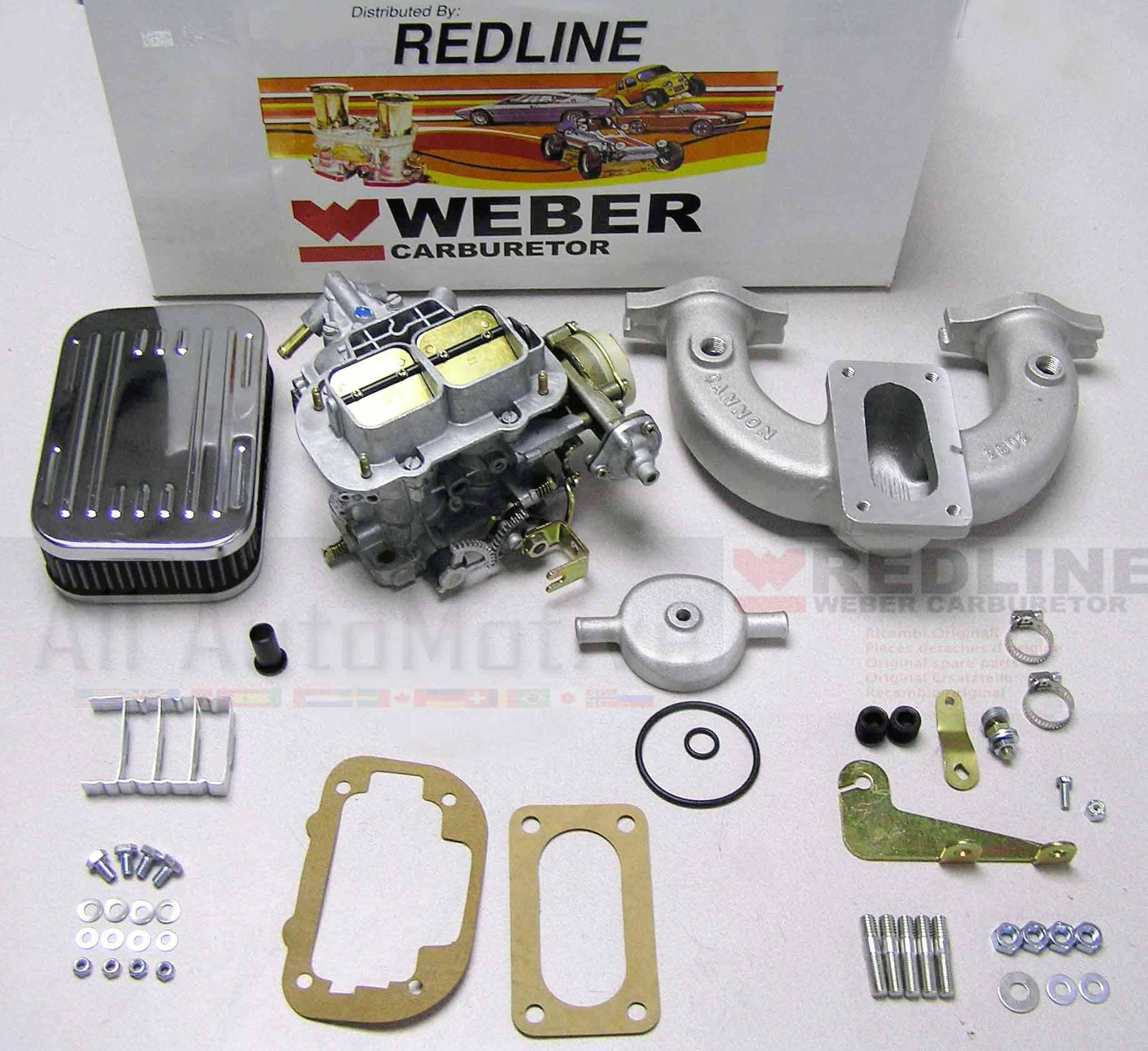 Details about MGB 1962 - 1980 Hi-Performance Weber Conversion Kit w/Genuine  European 38 DGES