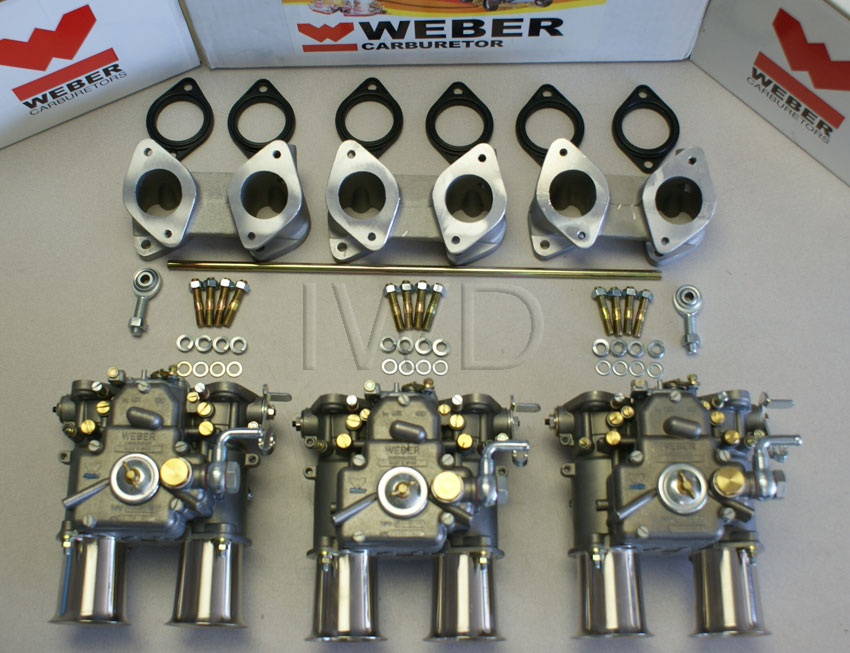 Bmw E3 With M30 Weber 40 Dcoe Redline Conversion Kit Bmw