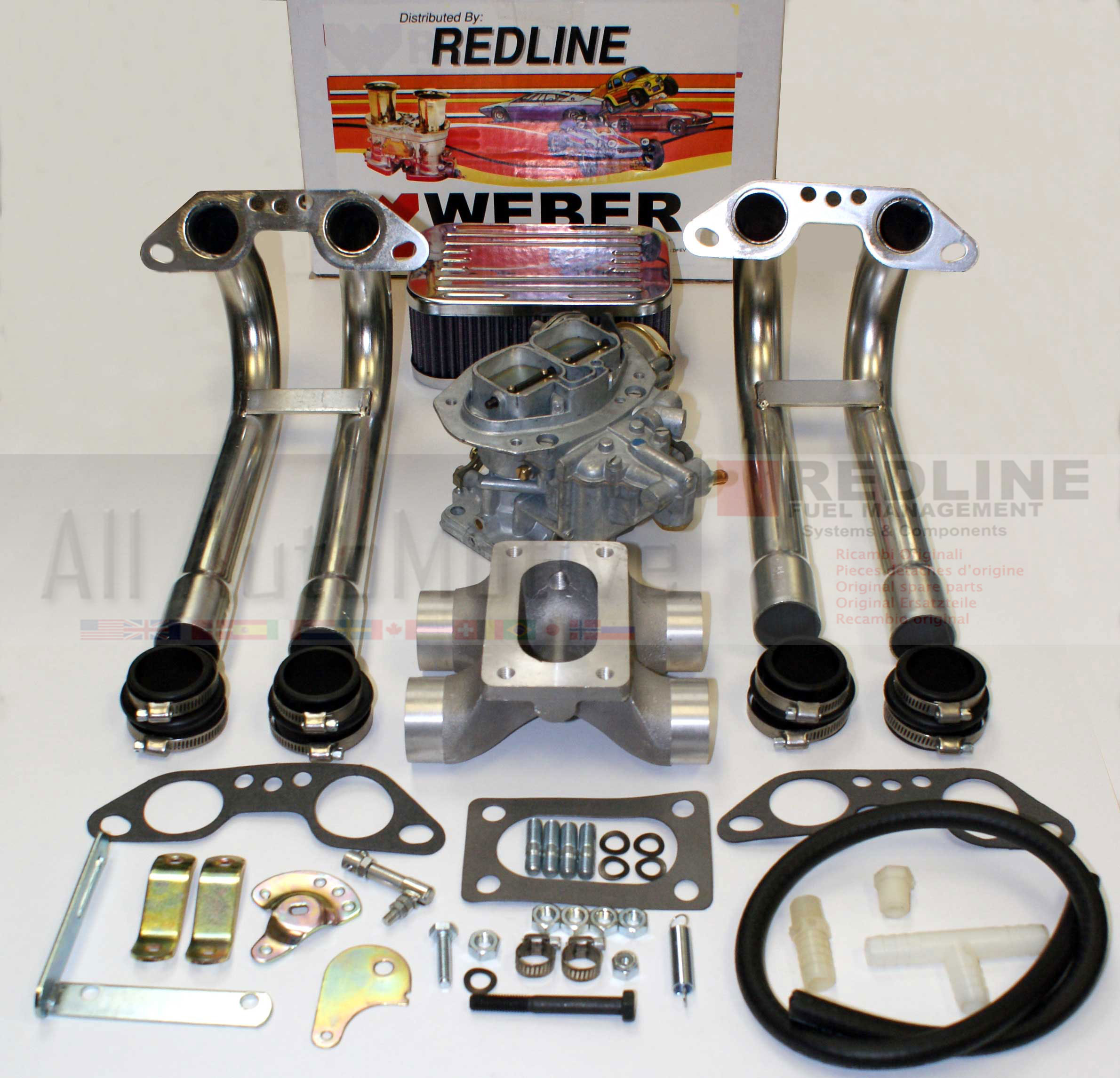 Vw Motor Swap Kits: VW TYPE2 TYPE4 1700-1800-2000cc Weber Conversion Kit