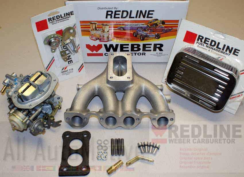 Vw Rabbit Scirocco Dasher Weber Carburetor Kit 8v 1 5 1 6