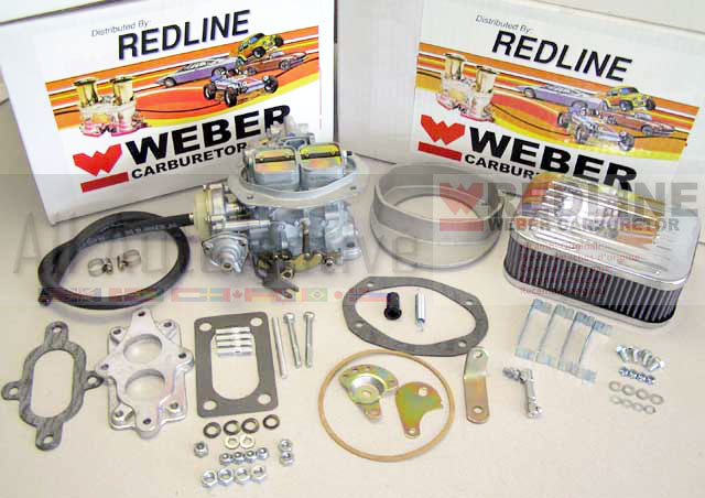 Vw Rabbit Sciricoo Dasher Weber Carburetor Kit