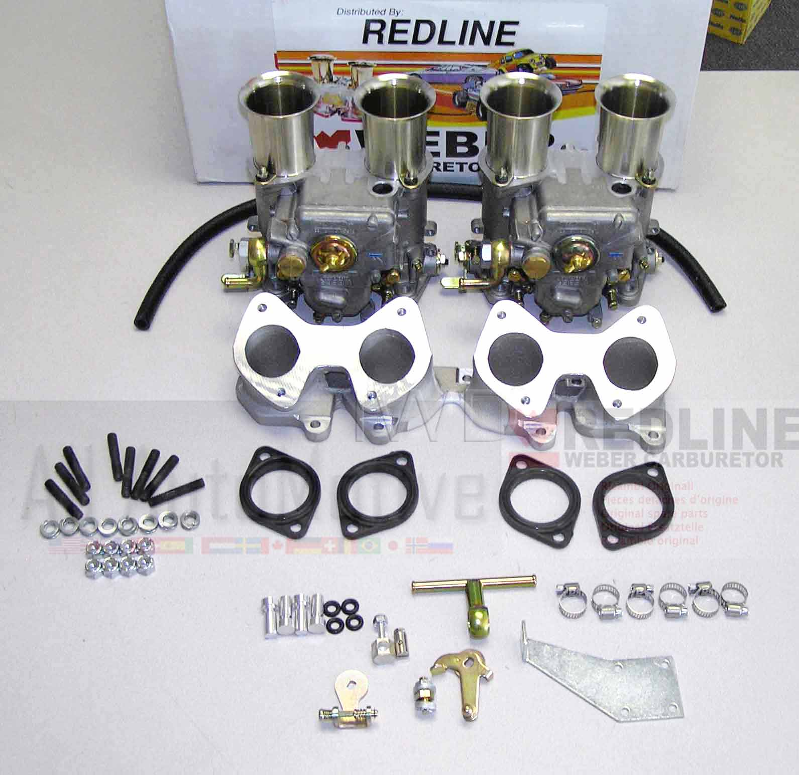 Vw Dual 45 Dcoe Weber Carburetor Kit 16v Engines