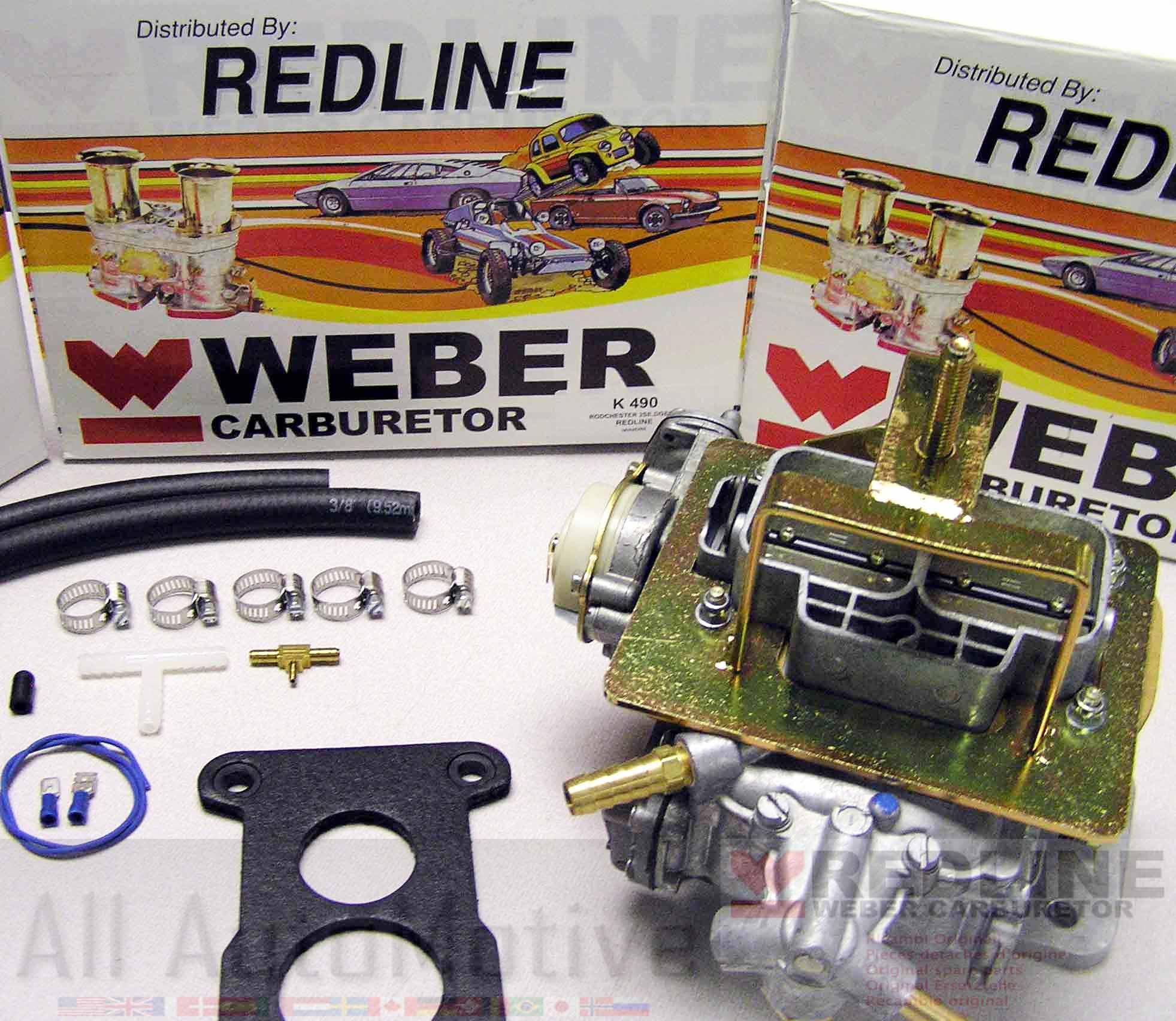 Jeep Chevy GMC 2.8 Weber Carburetor Conversion Kit