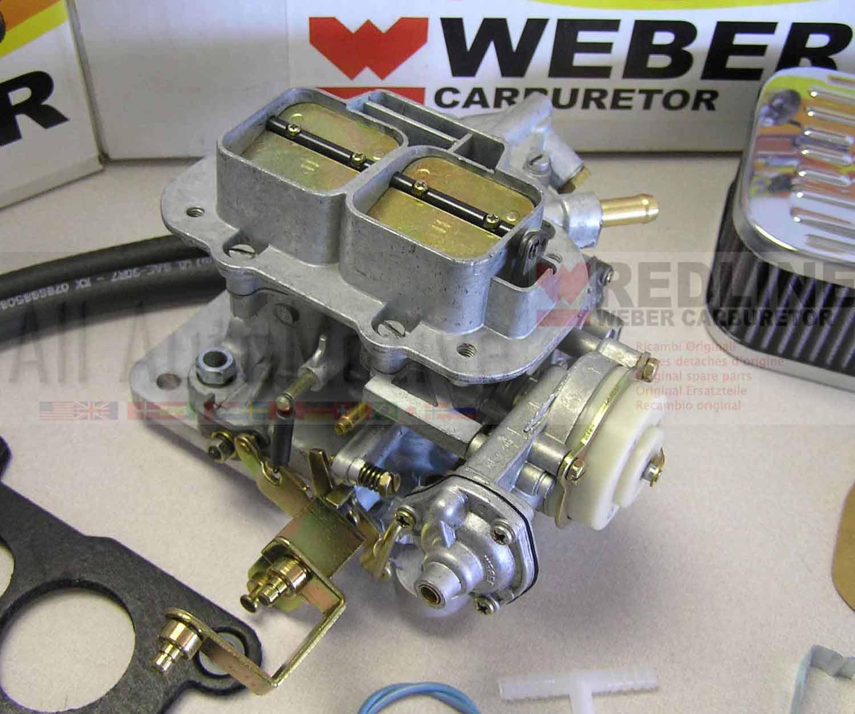 Jeep Chevy GMC 80-83 2.5 Weber Carb Conversion Kit