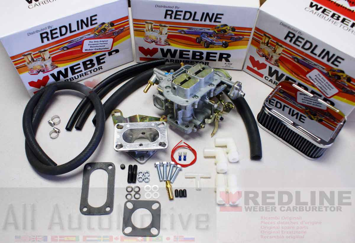 Jeep 25 Genuine European Weber Conversion Kit By Redline K552 1985 Cj Engine Wiring Harness Does Not Apply