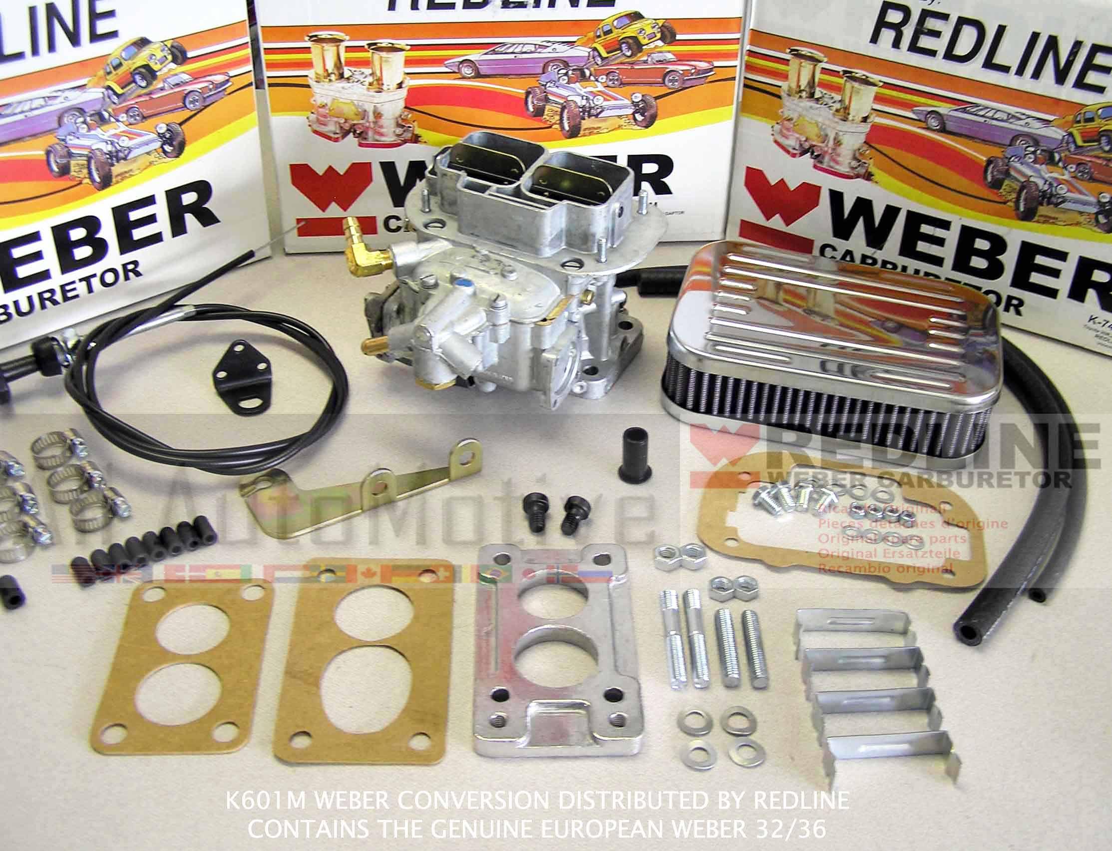 Suzuki Samurai Weber Carburetor Conversion Kit Manual Choke w ...