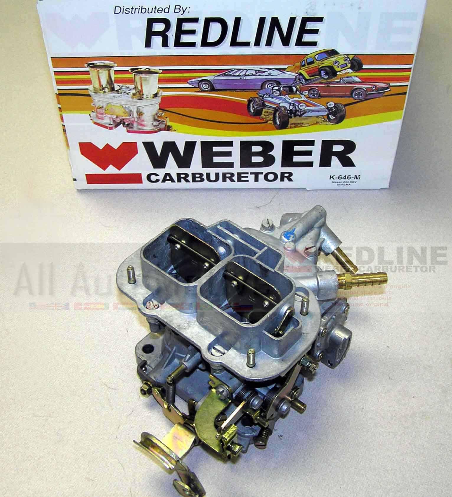 Weber Carb Conversion fits Nissan Pickup 83-86  Z24 Manual Choke Weber Carb