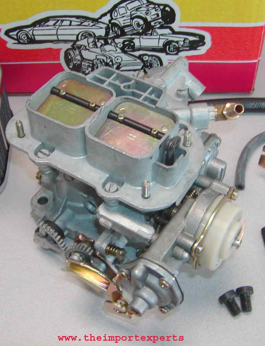 Details about Isuzu Pickup Trooper Weber 38/38 High Performance Carburetor  Conversion Kit
